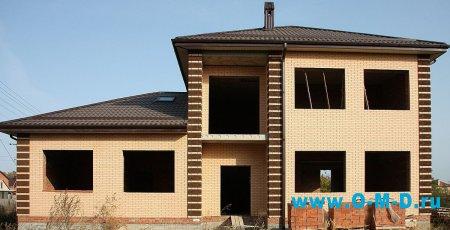 Преимущество постройки дома из кирпича