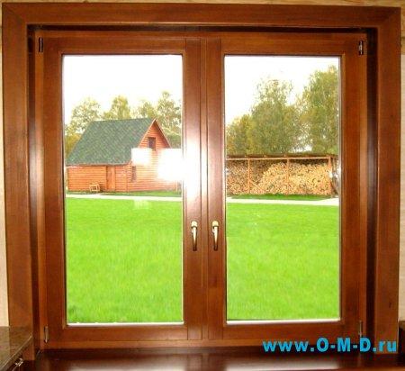 Окна деревянные: общее описание