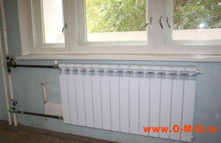 Отопление в квартире - замена радиаторов