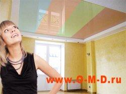 Выбираем натяжной потолок