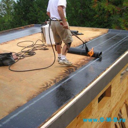 Мягкое покрытие для крыши