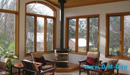 Окна из дерева – лучший выбор для современного жилища